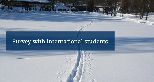 Survey with international students